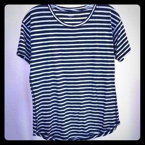 B & W striped cotton Madewell T