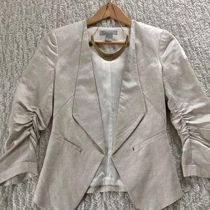 H&M Linen Structured Blazer