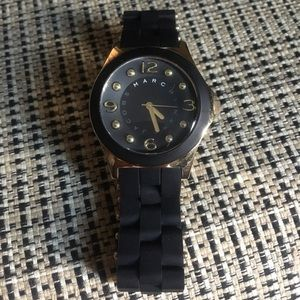 Rubber coated Marc Jacobs women's watch