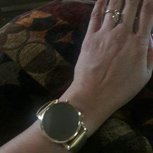 Mirror faced watch