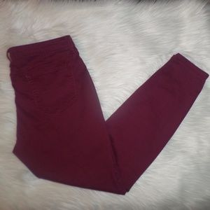 Pants - Maroon Pants
