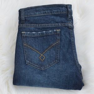 Hot Kiss Straight Leg Stretch Jeans