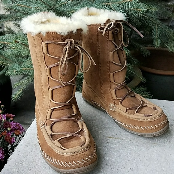 e0e84fc7e97 L.L. Bean Shoes - L.L.Bean wicked good lodge boots