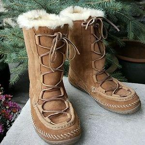 L L Bean Shoes Llbean Wicked Good Lodge Boots Poshmark
