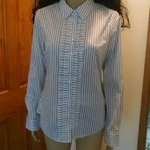 Womens size 10 dress shirt.