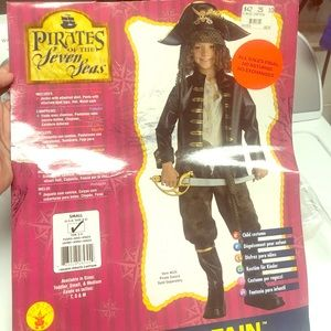 Other - Never worn child's pirate costume