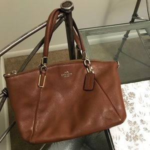 Coach Bags - Authentic coach medium Kelsey satchel (saddle)