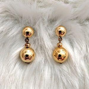 Drop Ball Earring