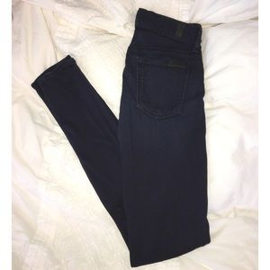 "7 For All Mankind ""The Skinny"" Dark Wash Jean"