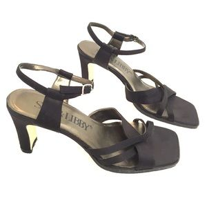 Sam & Libby satin dress heels