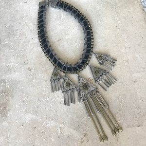 Forever 21 Tribal Collar Necklace