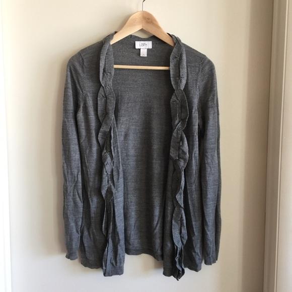 LOFT Sweaters - Ann Taylor Loft Merino Wool Cardigan
