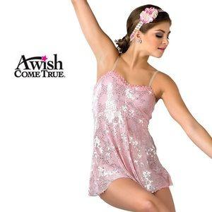pink lyrical dance costume