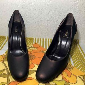 Authentic FENDI Stiletto Pumps - Size 39.5  / 9.6