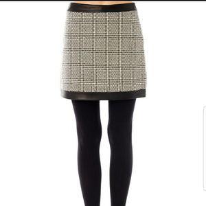 Rag & Bone Kensington Houndstooth Mini Skirt