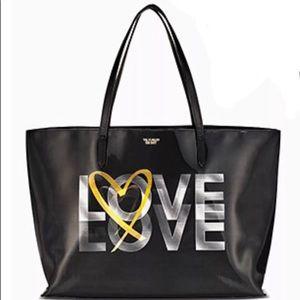 VS love Tote black bag