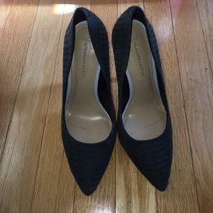 Bcbg Maxazria black pumps heels 6.5 4.5 inch heel