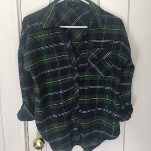 Comfy Fall Flannel Top