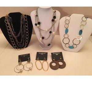 bebe Fashion Jewelry Lot (6) Piece