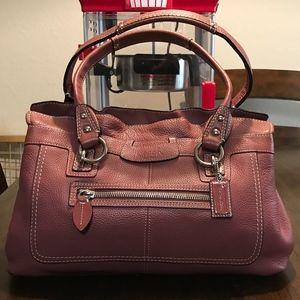 ***Rare Color*** Coach Mauve Handbag