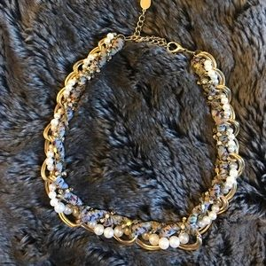 Wrapped Collar Necklace