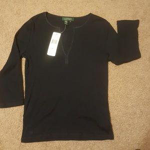 3/4 Sleeve Ralph Lauren  Top