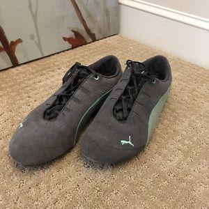 Gray Puma Sneakers