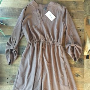 Brand new - No Rest For Bridget tan dress