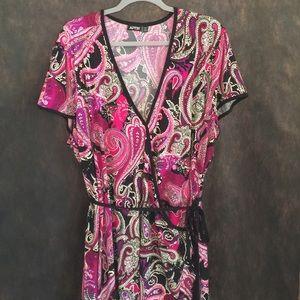 Flirty paisley dresss