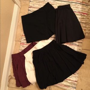 Brandy Melville Skirt Collection