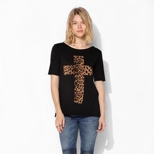 Urban Outiftters Truly Madly Deeply Cheetah Tee