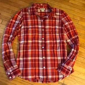 Lucky Brand Red Flannel