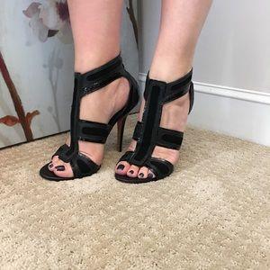 LAMB sexy black heels