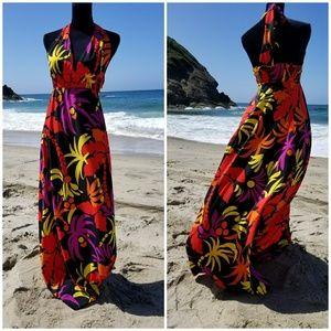Beautiful multi.color maxi dress