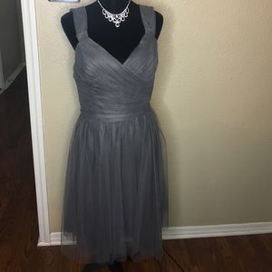 New grey gown