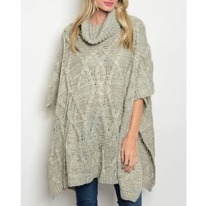 GIGI Loose Fit Sweater - GREY