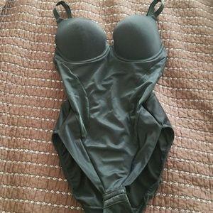Other - Black shapewear bodysuit bra