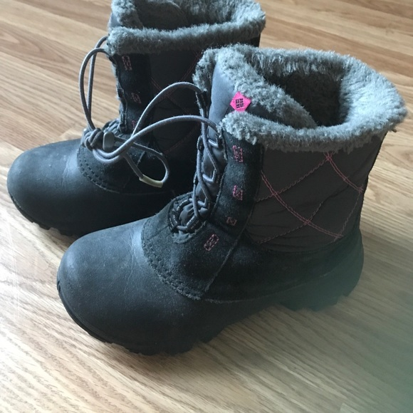 Columbia Other - Girls Columbia Snow Boots
