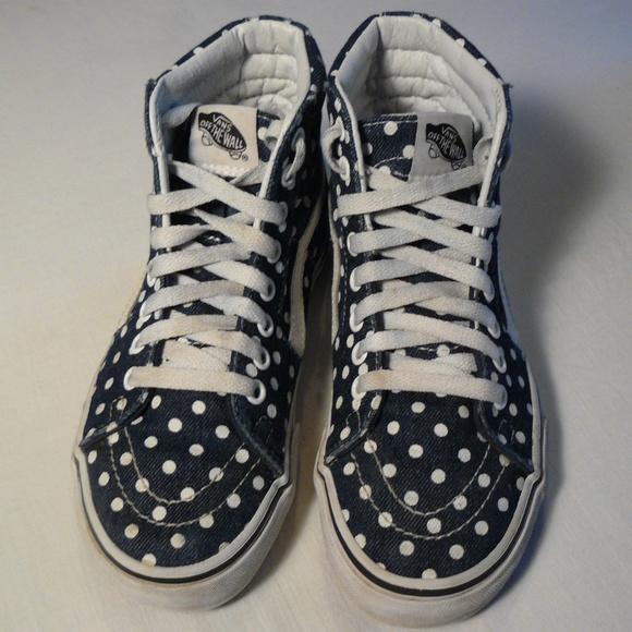 e6c31988e96a Vans Shoes - Polka Dot High Top Vans