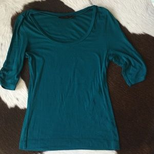 The Limited teal top, small