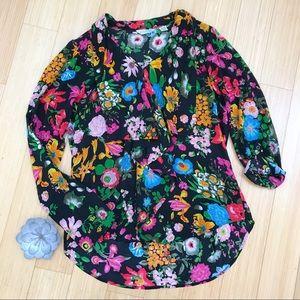 Anthropologie 11-1-Tylho button down blouse, M.