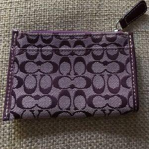 Authentic Coach Keychain, card holder /coin purse