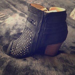 Black bootie size 6.5 Brand new