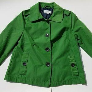Merona Green Jacket Size Small Pockets