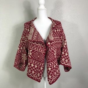 {CAbi} Fair Isle Shrug
