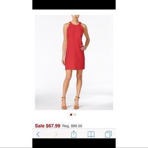 Maison Jules Dillard's XS scalloped tomato dress