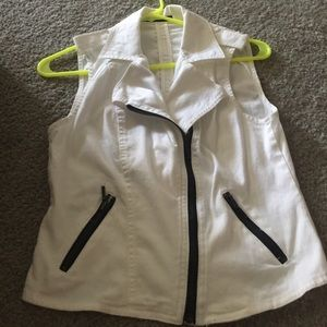 Maurices size small white vest