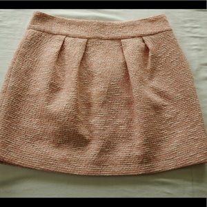 Zara pink tweed mini-skirt