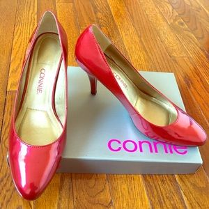 Shoes - Red patent Connie Pumps