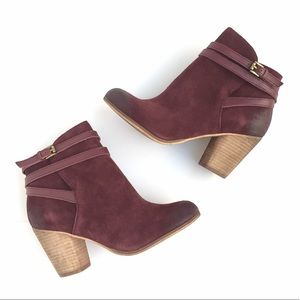 🆕NWOT BP Burgundy Ankle Boots